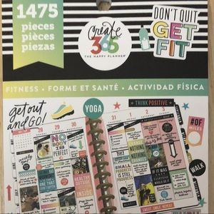 The Happy Planner Fitness Stickers: 1475PK